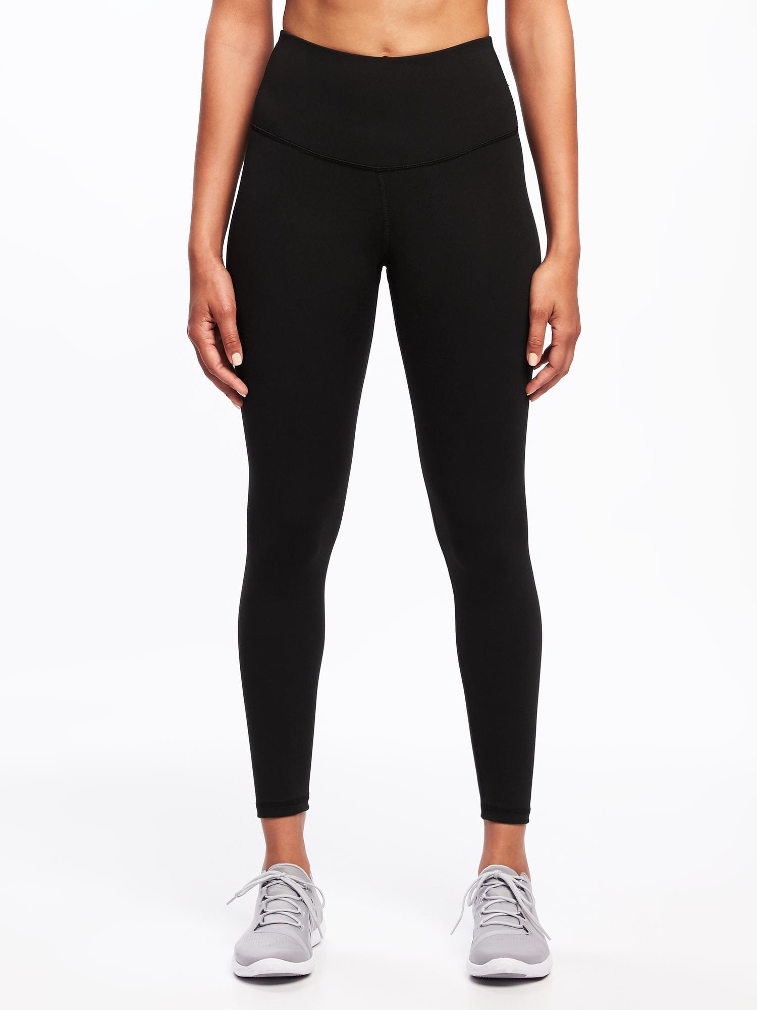86619bb8e6 High-Rise Elevate 7/8-Length Compression Leggings for Women | Old Navy