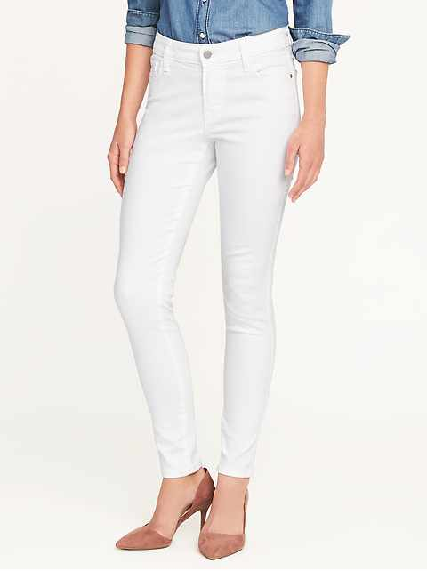 Mid-Rise Clean Slate Rockstar Super Skinny Jeans for Women
