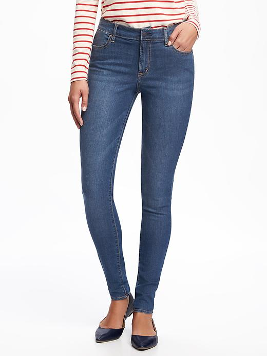 Mid-Rise Super Skinny Jeggings