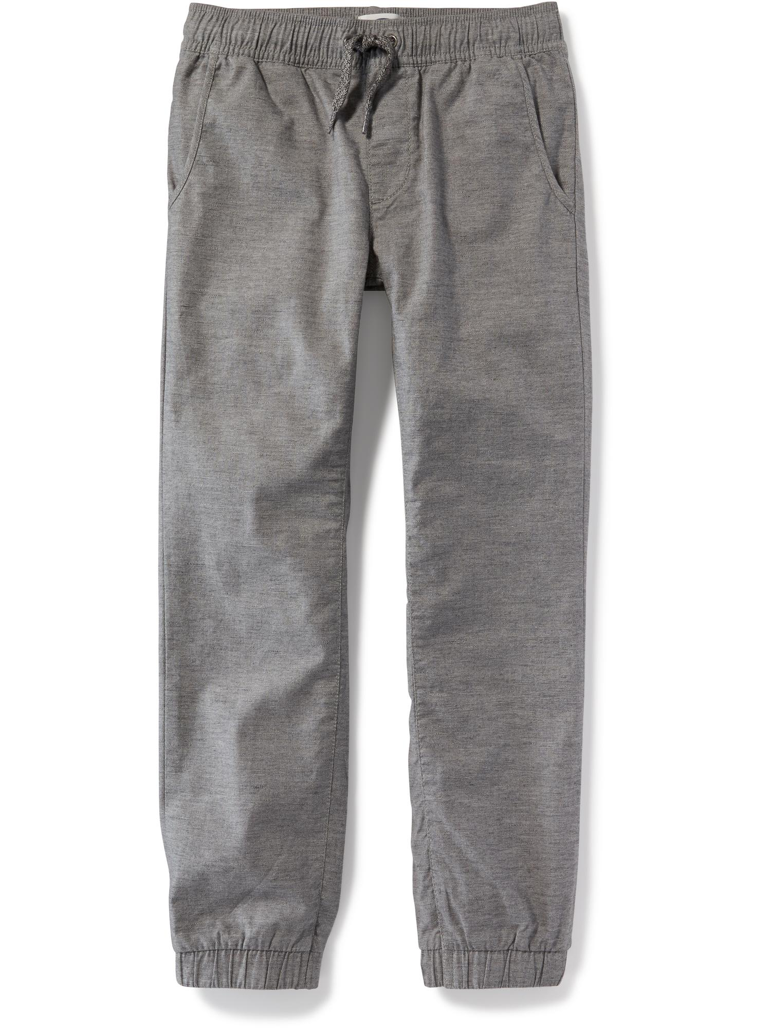 6ef95e8025cdd ... Flat-Front Heathered Joggers for Boys