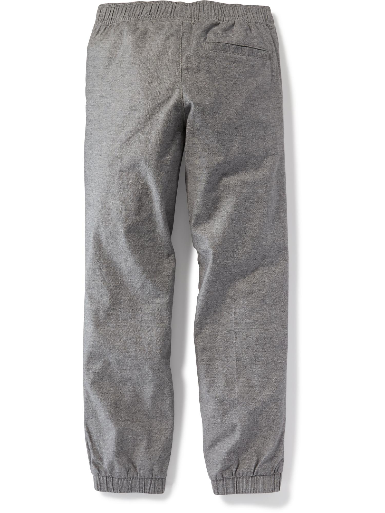 31fe1a719c40c Flat-Front Heathered Joggers for Boys ...