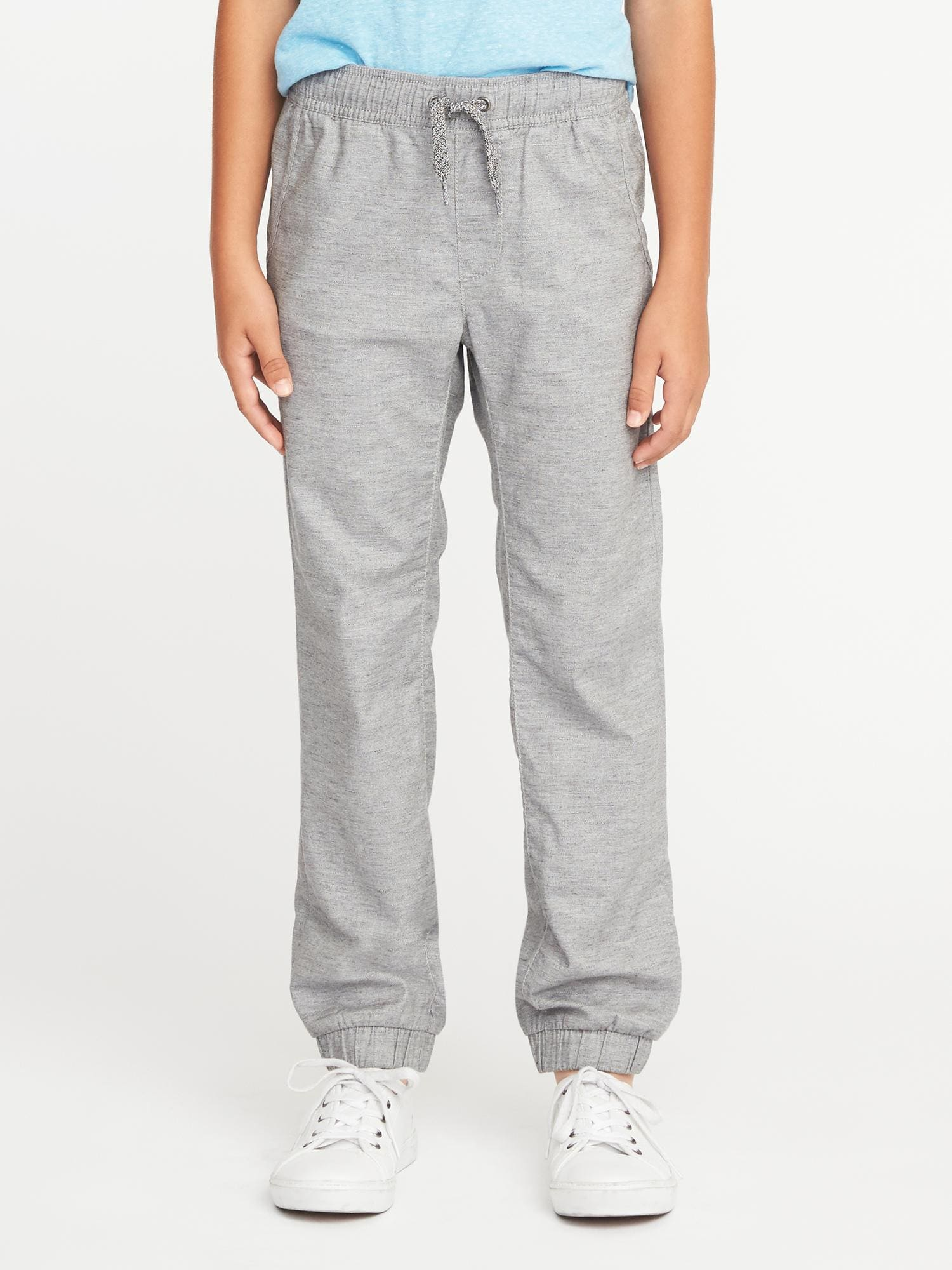 0d13cb6577c99 Flat-Front Heathered Joggers for Boys