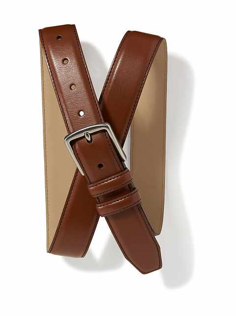 Faux-Leather Belt for Men