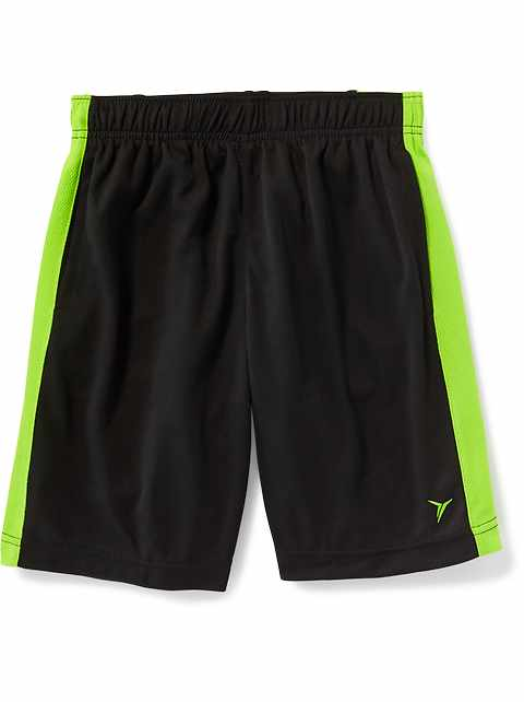 Relaxed Go-Dry Mesh Shorts for Boys