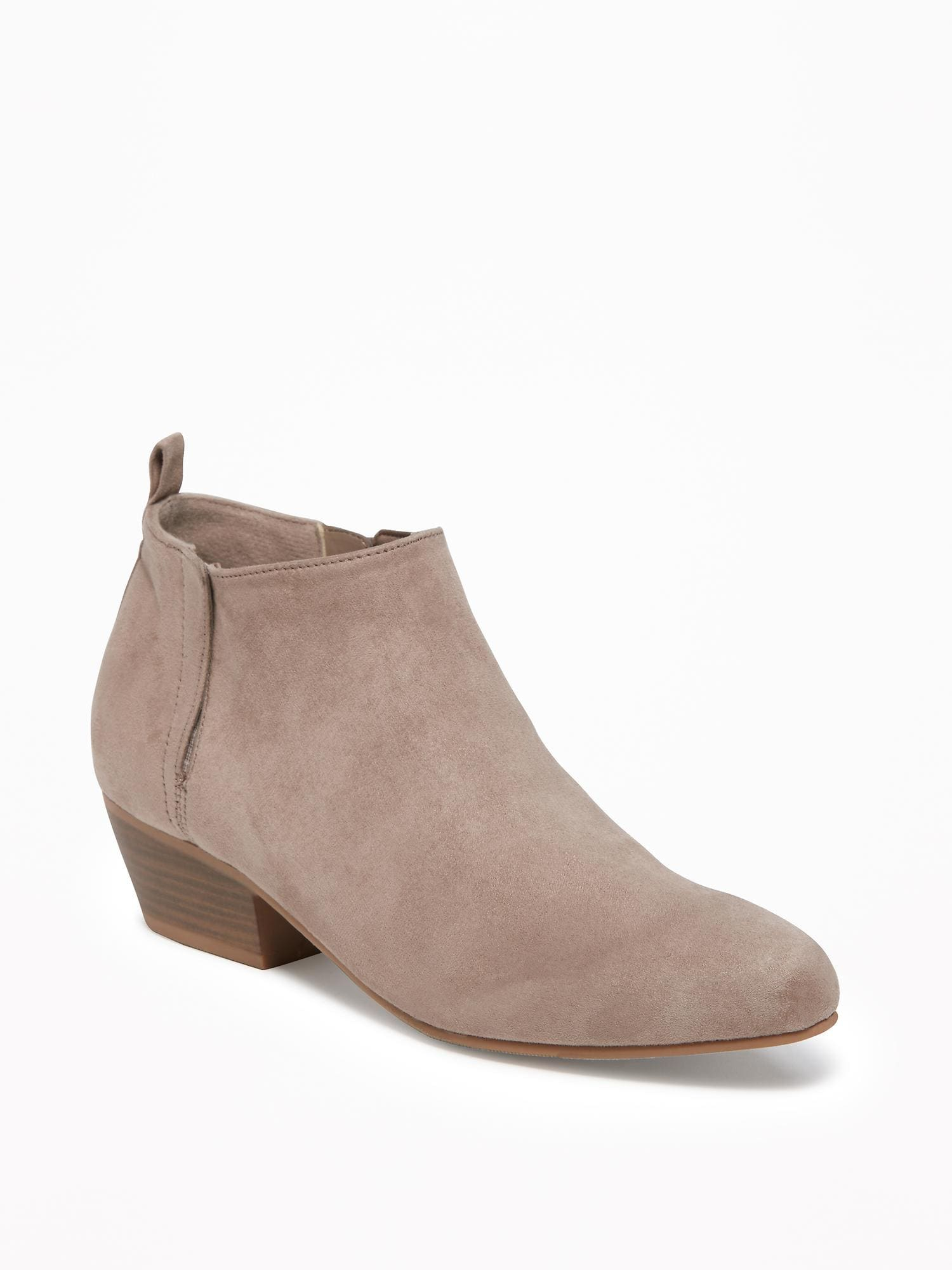 71a1f842af7eb Sueded Ankle Boots for Women