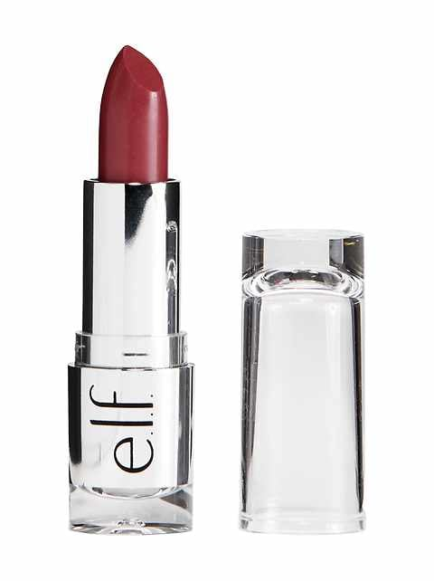 e.l.f. Beautifully Bare Satin Lipstick (Touch of Berry)