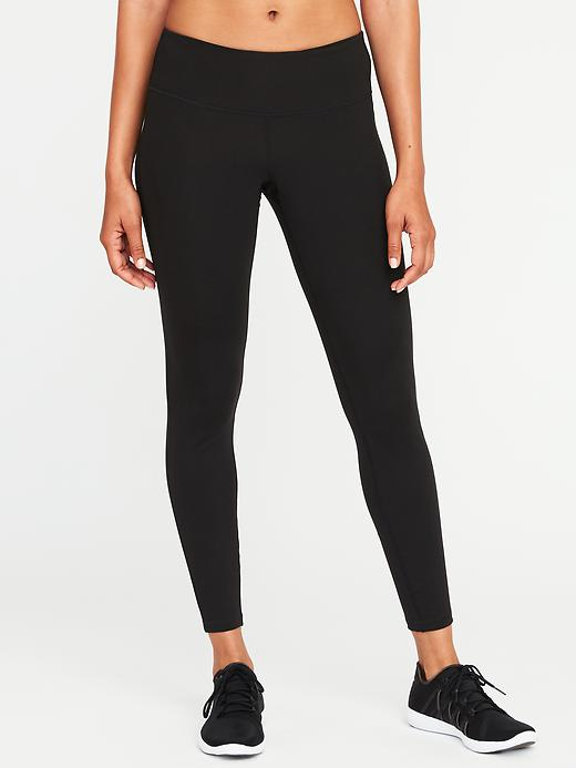 Mid-Rise 7/8 Compression Leggings