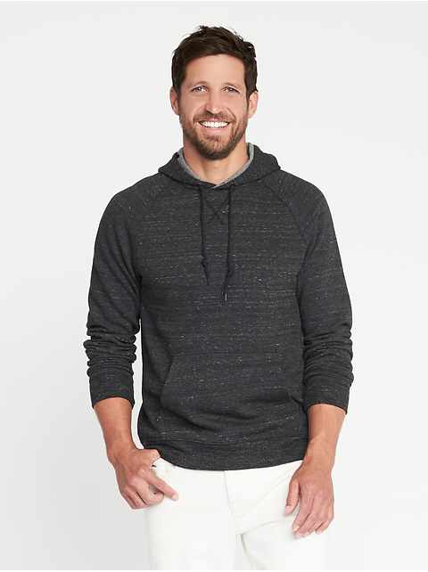 Soft-Washed Pullover Hoodie for Men