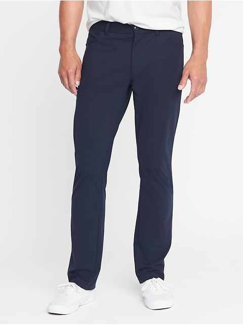 Slim Go-Dry Built-In Flex Performance Pants for Men