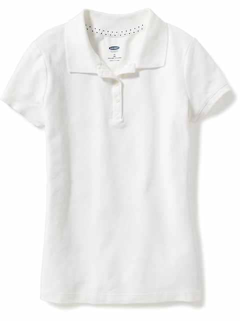 Old Navy  . Girls  Clothes  . School Uniforms For Girls  . Uniform Polo  Shirts · Uniform Pique Polo for Girls 132efa098