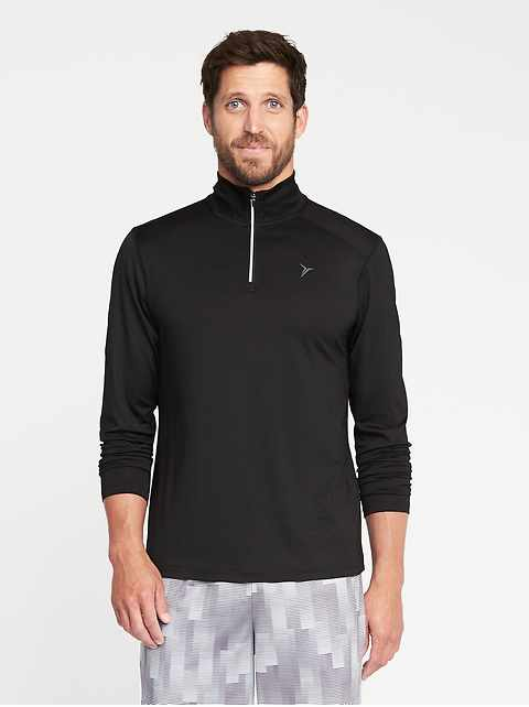 Go-Dry 1/4-Zip Performance Pullover for Men