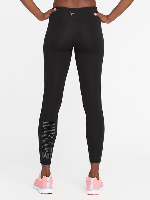 Mid-Rise 7/8-Length Compression Leggings