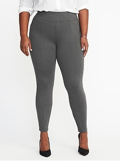 High-Rise Plus-Size Built-In Sculpt Stevie Pants