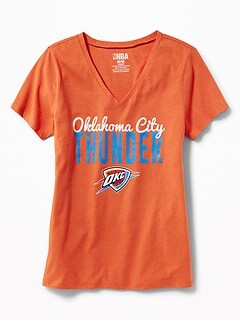 NBA&#174 Team V-Neck Tee for Women