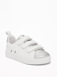 Metallic Color-Block Sneakers for Toddler Girls