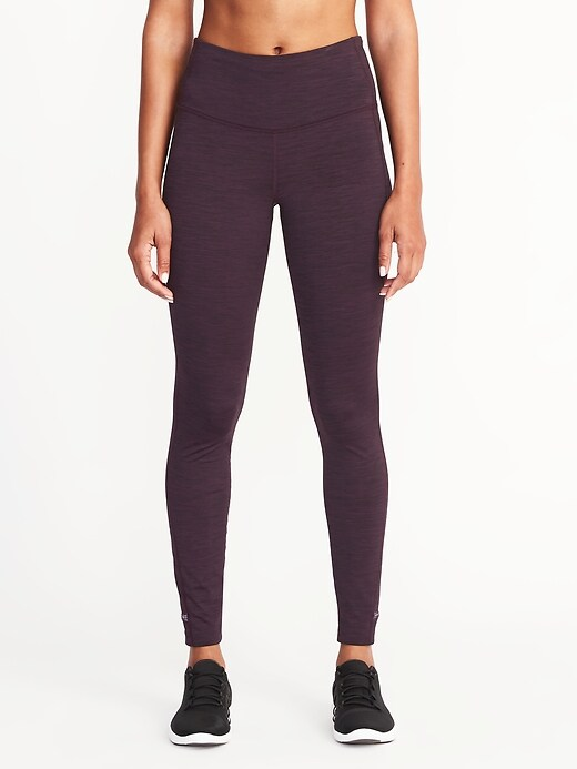 Womens High-Rise Run Leggings