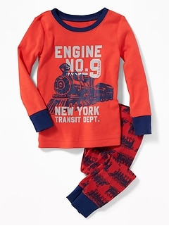 """Engine No.9"" Train Sleep Set for Toddler Boys & Baby"
