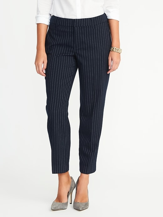 Mid-Rise Fitted Harper Pants