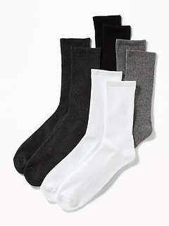 Crew-Socks 4-Pack for Men