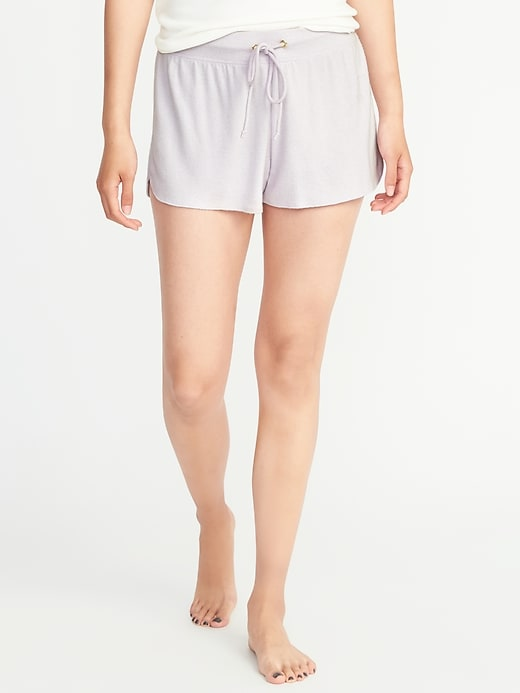 Plush Jersey Lounge Shorts