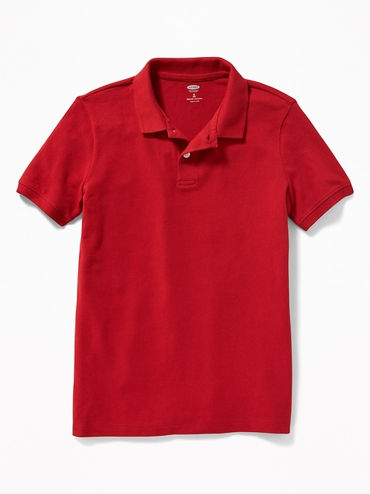 2-Pack Uniform Built-In Flex Pique Polo for Boys