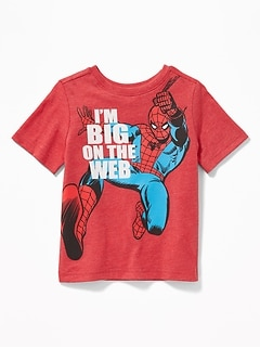 "Marvel Comics&#153 Spider-Man ""I'm Big On the Web"" Tee for Toddler Boys"