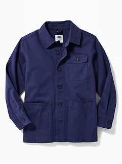 Built-In Flex Chore Jacket for Boys