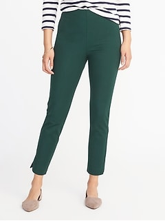 High-Rise Pixie Side-Zip Pants for Women