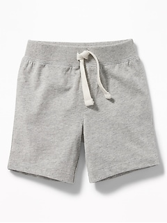 Jersey Pull-On Shorts for Toddler Boys
