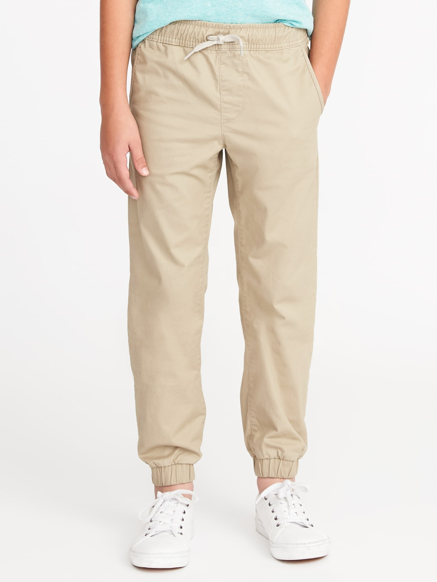 factory world-wide selection of meticulous dyeing processes Built-In Flex Twill Joggers for Boys