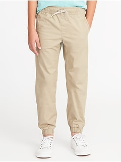 Built-In Flex Twill Joggers for Boys