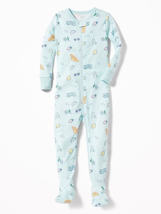 Printed Footed Sleeper For Toddler & Baby by Old Navy