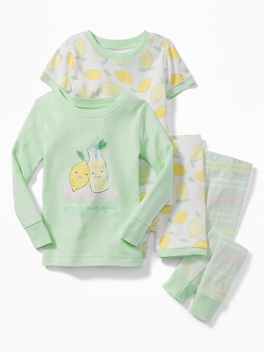 """You're My Main Squeeze"" 4 Piece Sleep Set For Toddler & Baby by Old Navy"