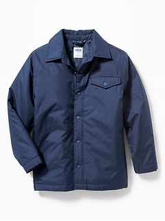 Windbreaker Shirt Jacket for Boys