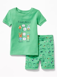 """Field Notes"" Bugs Sleep Set for Toddler & Baby"