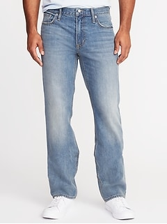 Rigid Boot-Cut Jeans for Men