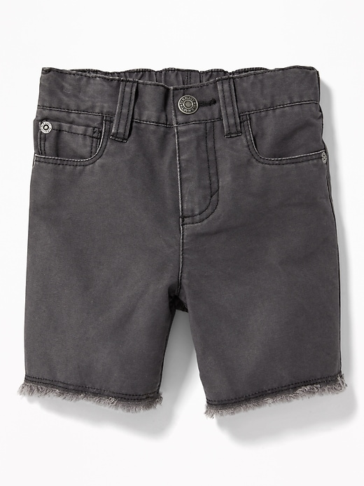 Canvas Cut Off Shorts For Toddler Boys by Old Navy