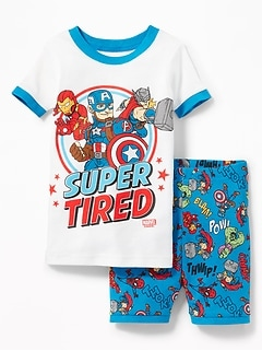"Marvel Comics&#153 Avengers ""Super Tired"" Sleep Set for Toddler & Baby"