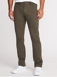 Slim Go-Dry Performance Flex Pants for Men