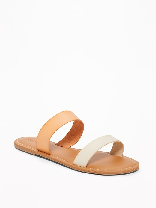 Double-Strap Sandals for Women