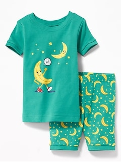 Banana-Moon Sleep Set for Toddler Boys & Baby