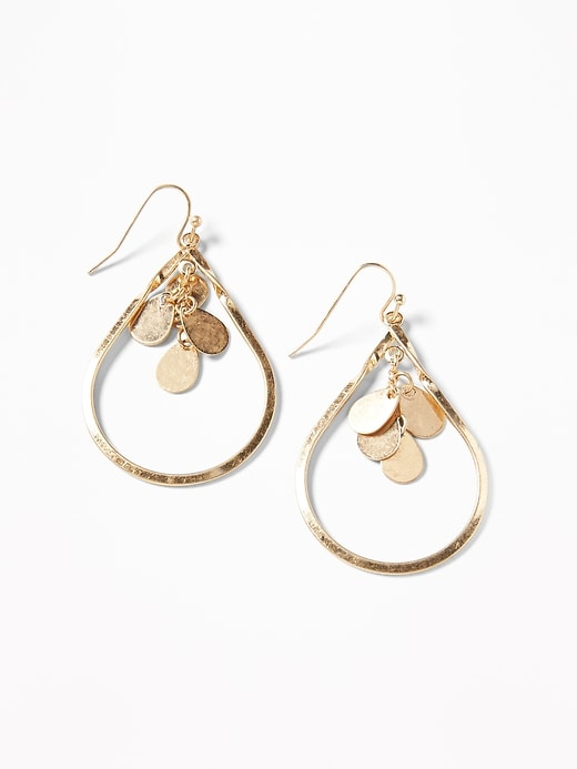 Dangle Hoop Earrings For Women by Old Navy