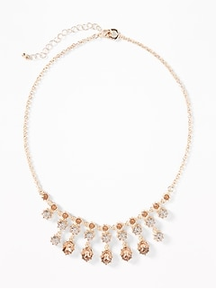 Crystal Statement Necklace for Women