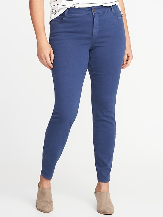 High-Rise Smooth & Slim Plus-Size Rockstar Jeans