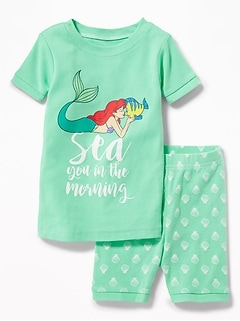 "Disney&#169 Little Mermaid ""Sea You in the Morning"" Sleep Set for Toddler & Baby"