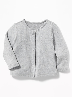 Plush-Knit Cardi for Baby