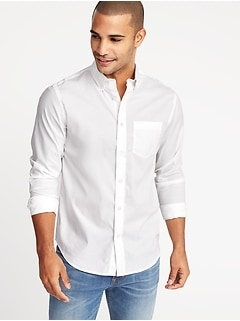 Regular-Fit Clean-Slate Built-In Flex Everyday Shirt for Men