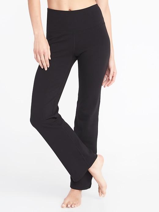 Slim Boot-Cut Yoga Pants For Women
