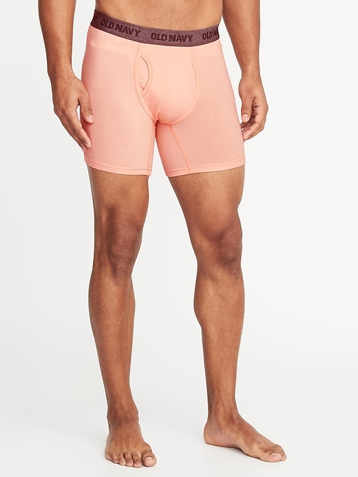 Soft Washed Boxer Briefs For Men by Old Navy