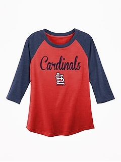 MLB&#174 Team Graphic Raglan Tee for Girls